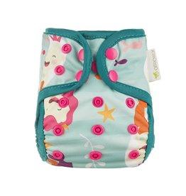 OsoCozy Newborn Diaper Cover - Mermaids