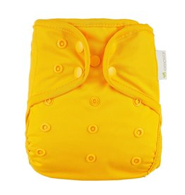 OsoCozy One Size Diaper Cover - Yellow