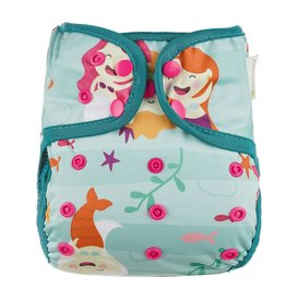OsoCozy One Size Diaper Cover - Mermaids