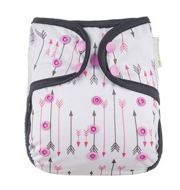 OsoCozy One Size Diaper Cover - Arrows