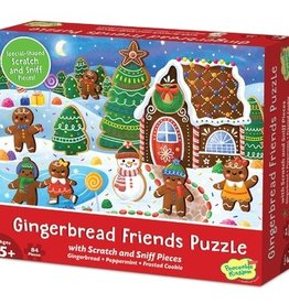 Peaceable Kingdom Gingerbread Friends Scratch and Sniff Puzzle