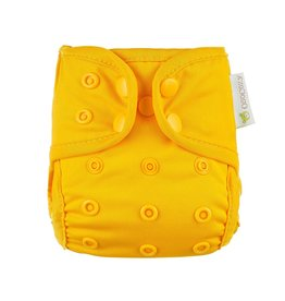 OsoCozy Newborn Diaper Cover - Yellow