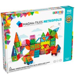 Magna-Tiles Magna-Tiles - Metropolis 110 Piece Set