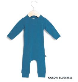 Rags Essentials Infant Rag Romper - Bluesteel