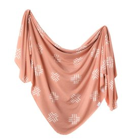 Copper Pearl Copper Pearl - Knit Swaddle Blanket - Mesa