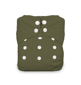 Thirsties Thirsties - One Size AIO Snap - Olive
