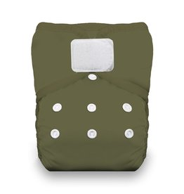 Thirsties Thirsties - One Size Pocket Diaper H&L - Olive