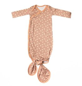 Copper Pearl Copper Pearl - Newborn Knotted Gown - Treat