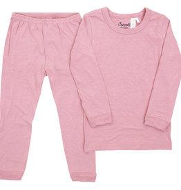 Coccoli Coccoli - Kid Modal Pyjama - Silver Pink