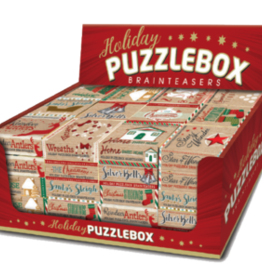Project Genius Holiday Puzzlebox Brainteaser