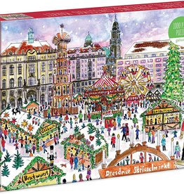 Puzzle 1000pc - Christmas Market in Dresden