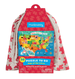 Puzzle to Go - Map of the USA