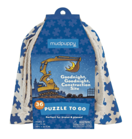 Puzzle to Go - Goodnight, Goodnight, Construction Site