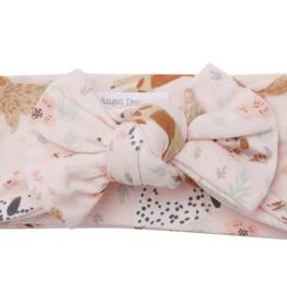 Angel Dear - Headband - Pink Floral Pups