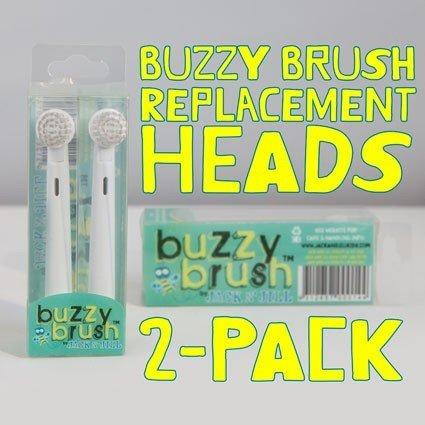 Jack N' Jill Jack N' Jill Buzzy Brush Replacement Heads 2-Pack