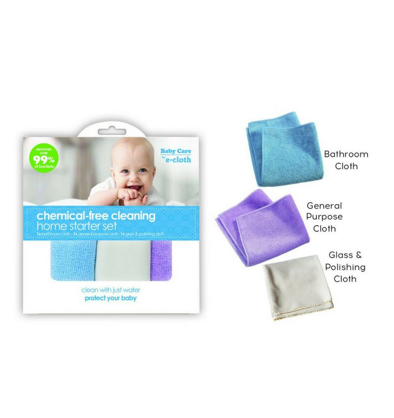 e-cloth Chemical Free Cleaning Home Starter Set
