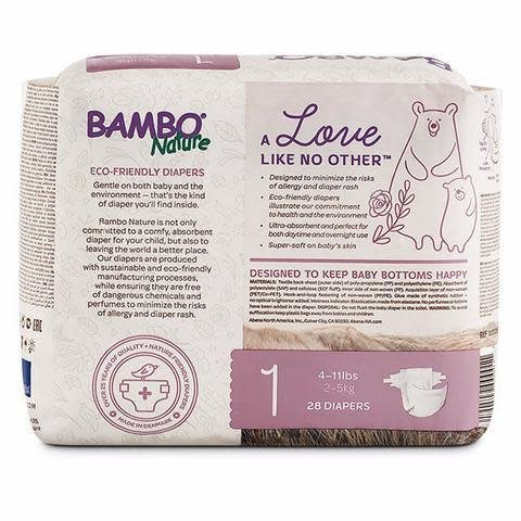 Bambo Nature Bambo Nature Disposable Diapers