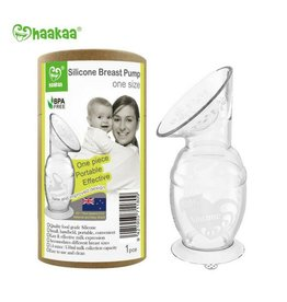 Haakaa Silicone Breast Pump with Suction Base
