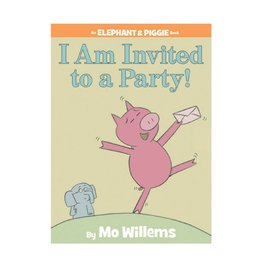 Elephant & Piggie I Am Invited to a Party