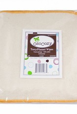 OsoCozy Flannel Terry Double-Sided  Wipes
