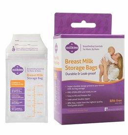 Milkies Breastmilk Storage Bags 50 count