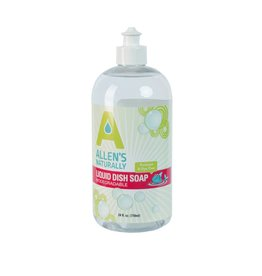 Allen's Naturally Liquid Dish Soap 25 oz