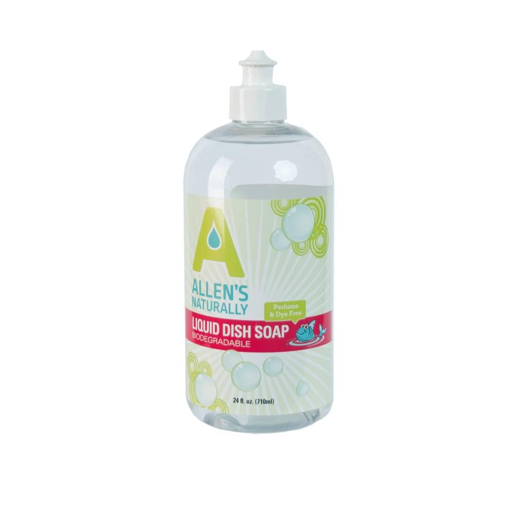 Allen's Naturally Liquid Dish Soap 25 oz