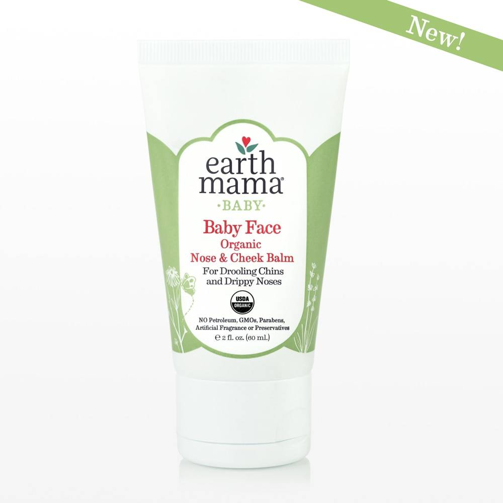 Earth Mama Angel Baby Baby Face Organic Nose & Cheek Balm