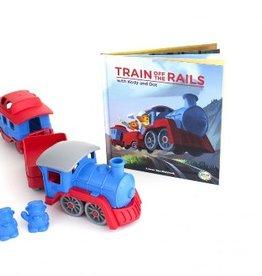 Green Toys Train & Book Set