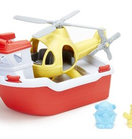 Green Toys Green Toys - Rescue Boat & Helicopter