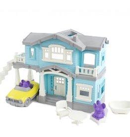 Green Toys House Playset Blue