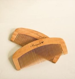 Peach Wood Combs- 2 pack