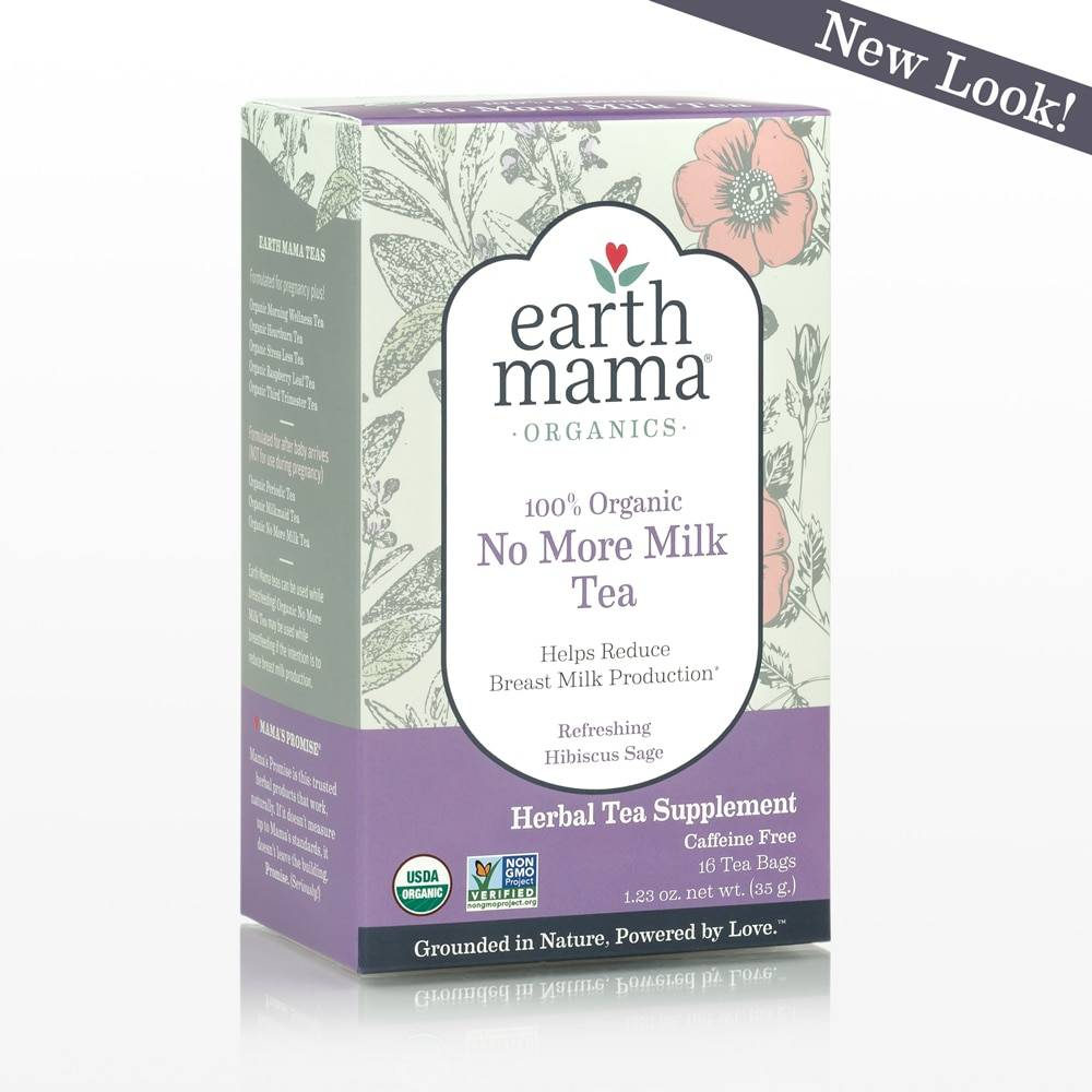 Earth Mama Angel Baby Organic No More Milk Tea