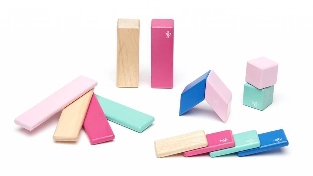 Tegu Tegu 14 Piece Set Magnetic Blocks