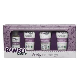 Bambo Nature Bambo Nature - Baby On The Go Set