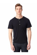 Alternative Apparel Organic Short Sleeve Henley Shirt