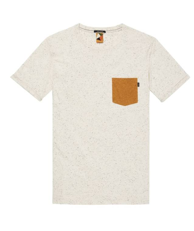 Scotch & Soda La Poste Nepped Pocket Tee