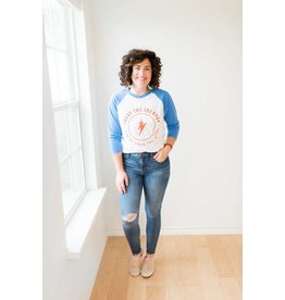 Ramble and Co Trust The Journey Unisex Baseball Tee