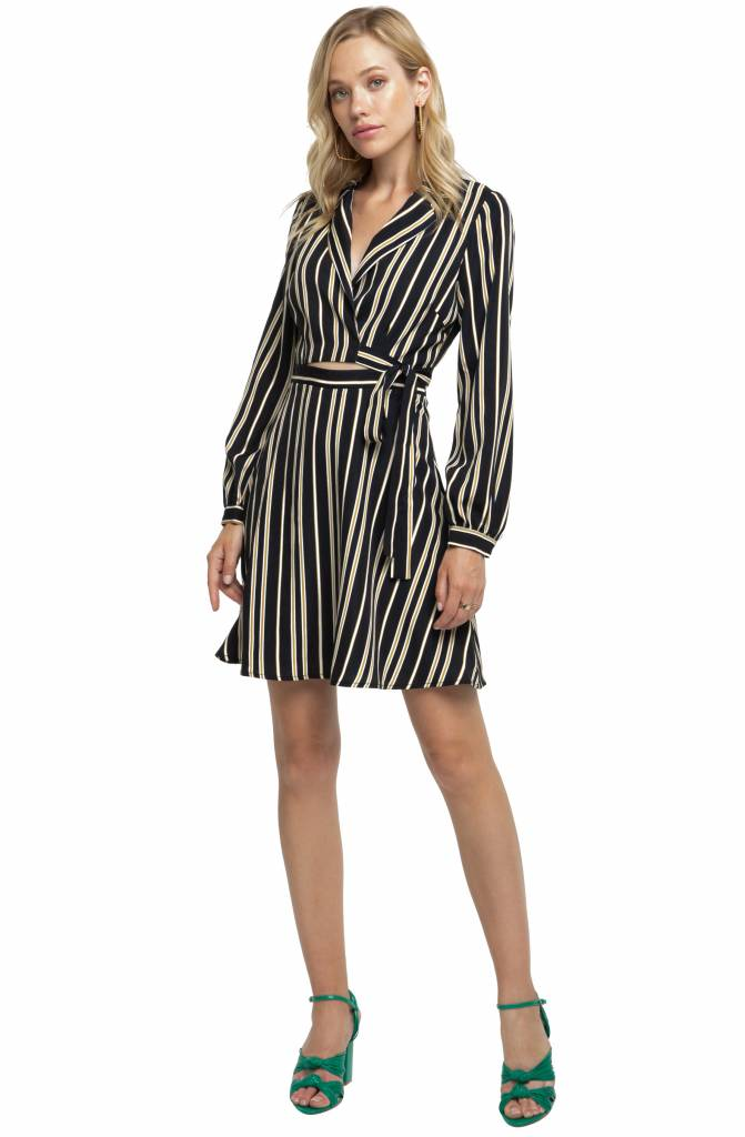 ASTR Jackie O Wrap Dress
