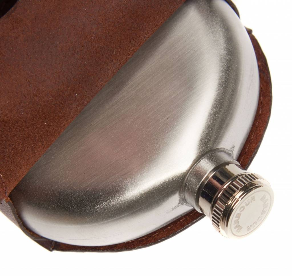 Barbour Barbour Round Hip Flask