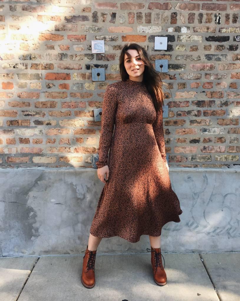 Free People Loveless Printed Midi Dress