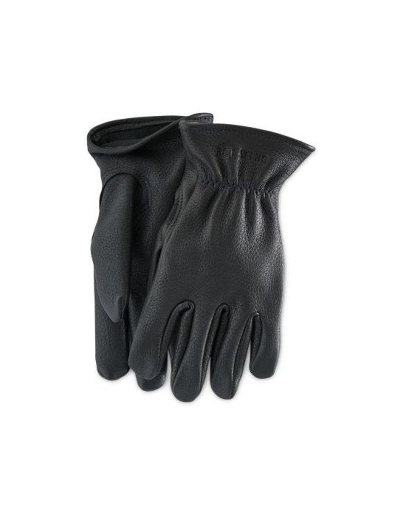 Redwing Heritage Redwing Black Buckskin Leather- Lined Glove