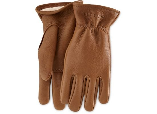Redwing Heritage Redwing Nutmeg Buckskin Leather Lined Glove