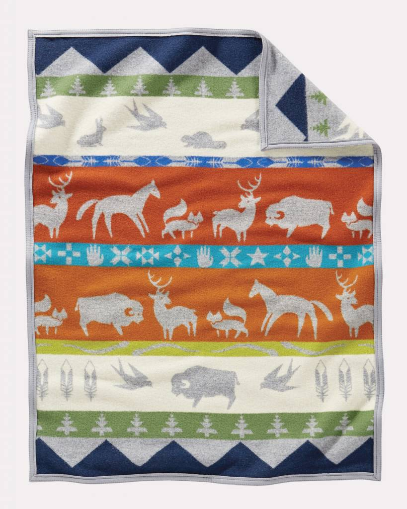 Pendleton Shared Paths Crib Blanket