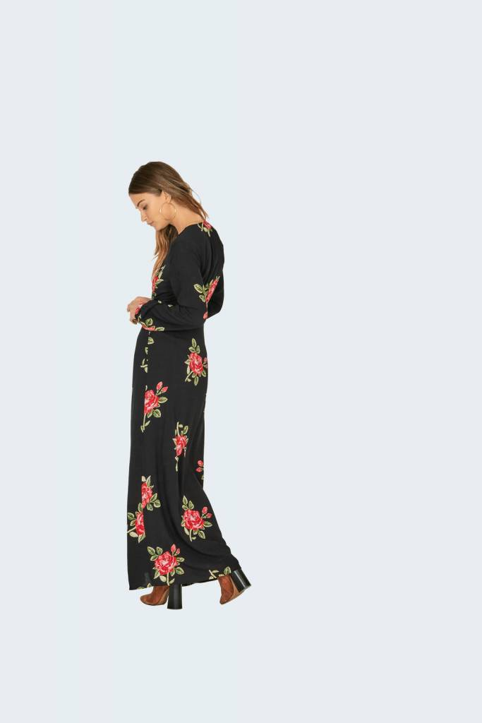 Amuse Society All Buttoned Up Dress