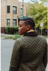 Barbour Dunnock Quilted Wax Jacket