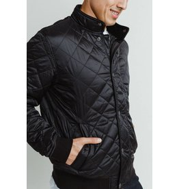 Barbour Edderton Quilt Bomber Jacket