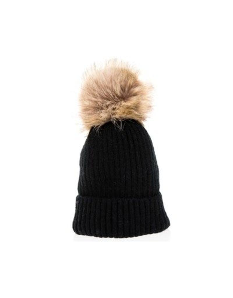 DNMC Kids Pom Knit Hat
