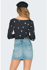 Amuse Society Fresh as a Daisy Top