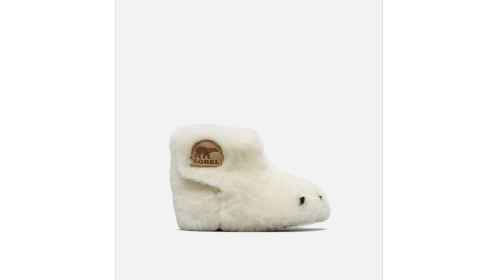 Sorel Bear Paw Shearling Baby Slipper